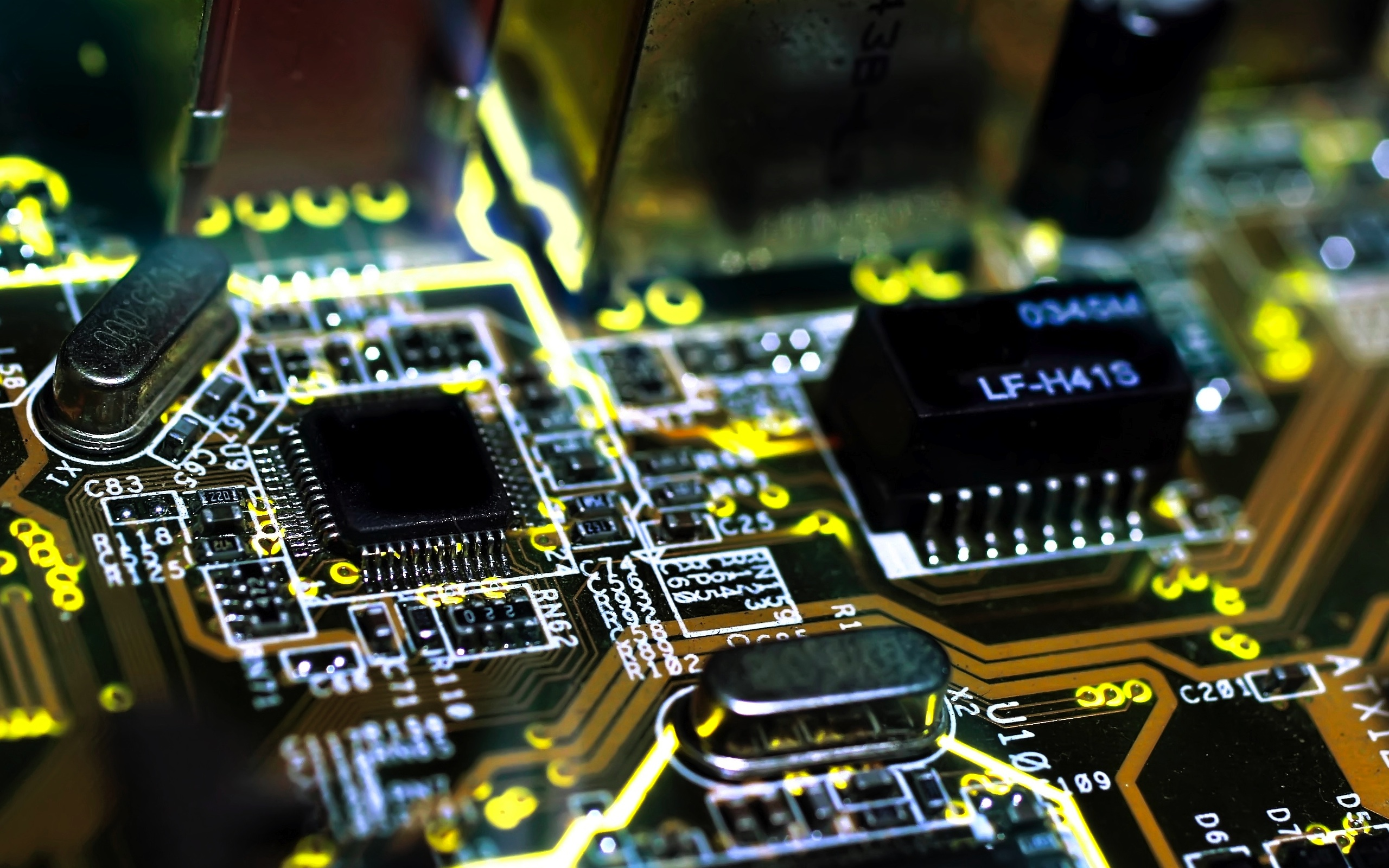 Soldering Services Manchester 0161 637 1023 Circuit Board Wallpaper